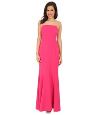 Jill Stuart Harlow Strapless Hourglass Gown Peony Women's Dress Pink
