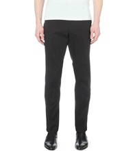 Ralph Lauren Black Label James Stretch Cotton Trousers Rl Black