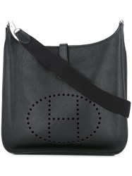 Hermes Vintage Evelyne Ii Gm Shoulder Bag Black