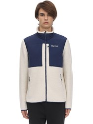 Marmot Wiley Faux Shearling Jacket Off White