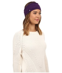 Ugg Isla Lurex Cable Headband Bilberry Multi Headband Purple