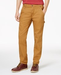 Dickies Men's Flex Duck Carpenter Pants Brown Duck