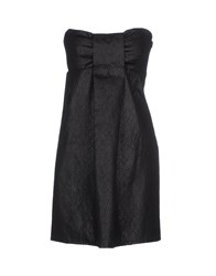 Monica Bianco Dresses Short Dresses Women Black