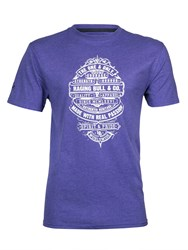 Raging Bull The One And Only T Shirt Purple