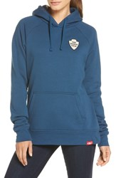 The North Face Bottle Source Pullover Blue Wing Teal