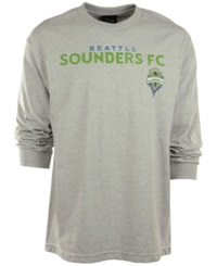 G3 Sports Men's Long Sleeve Seattle Sounders Fc T Shirt Gray