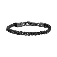 Emanuele Bicocchi Black Tiny Braided Bracelet