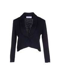 Kaos Suits And Jackets Blazers Women Dark Blue