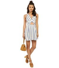 Lovers Friends Honor Dress Nautical Stripe Women's Dress Blue