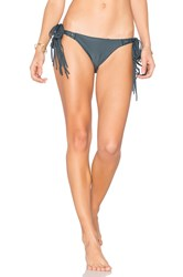 Beach Riot Coal Bikini Bottom Slate