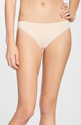 Women's Halogen Seamless Thong Beige Almond