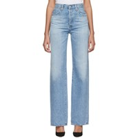 Citizens Of Humanity Blue Annina High Rise Jeans