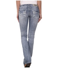 Rock And Roll Cowgirl Low Rise Bootcut In Light Wash W6 3636 Light Wash Women's Jeans Blue