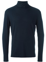 Wood Wood 'Gordon' Turtleneck Pullover Blue