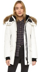 Mackage Juliann Down Jacket Off White