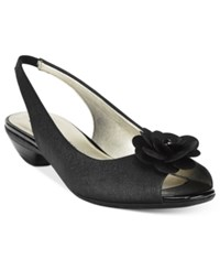 Anne Klein Lesta Slingback Dress Pumps Black
