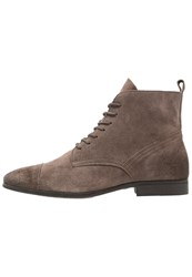 Zign Laceup Boots Taupe
