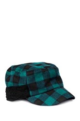 Muk Luks Plaid Festival Radar Cap Black