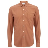 Our Legacy Men's Classic Long Sleeve Shirt Pink Silk