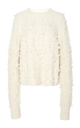 Ulla Johnson Cornelia Pom Pom Sweater Neutral