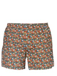 Dolce And Gabbana Tomatoes Garlic Cotton Poplin Boxers