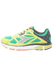 Diadora N41002 Neutral Running Shoes Green Spring Lime