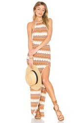 Ale By Alessandra Thais Knit Maxi Brown