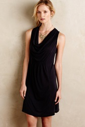 Maeve Cara Cowl Dress Black