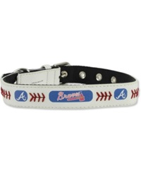 Game Wear Atlanta Braves Pet Collar White