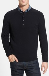 Men's Big And Tall Nordstrom Regular Fit Cashmere Henley