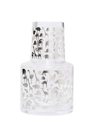 Egizia Aia Glass Decanter And Glass Set
