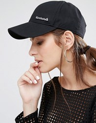 Reebok Cap With Metal Logo Black