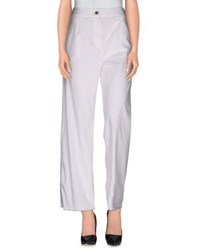 Andrea Incontri Trousers Casual Trousers Women White
