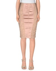 Elisabetta Franchi Skirts Knee Length Skirts Women Skin Colour