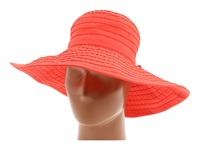 San Diego Hat Company Rbl299 Crushable Ribbon Floppy Hat Coral Traditional Hats