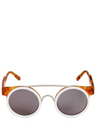 Smoke X Mirrors Dual Layered Round Sunglasses