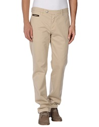 Dog Fox Casual Pants Beige