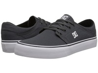 Dc Trase Tx Grey Grey White Skate Shoes Gray