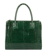Nancy Gonzalez Double Zip Tote Bag Female Green