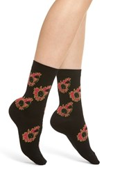 Paul Smith Harper Floral Socks Black