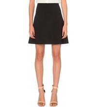 Sandro Remind Lace Detail Woven Dress Marine