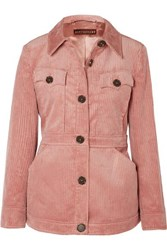 Alexachung Cotton Blend Corduroy Jacket Pink