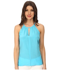 Lilly Pulitzer Tillie Top Searulean Blue Women's Sleeveless