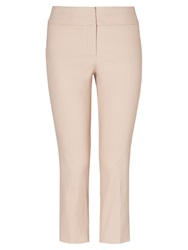 Phase Eight Betty Crop Trousers Stone Silver