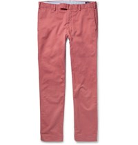 Polo Ralph Lauren Slim Fit Stretch Cotton Twill Chinos Coral