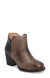 Bed Stu Women's Yell Bootie Grey Rustic Black Rustic