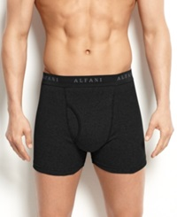 Alfani Men's Underwear Black Boxer Brief 4 Pack