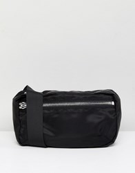 Weekday Nylon Bum Bag Black