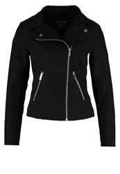 Dorothy Perkins Suedette Faux Leather Jacket Black
