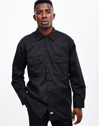 Dickies Long Sleeve Work Shirt Black